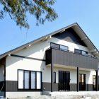 多賀城の大屋根の家